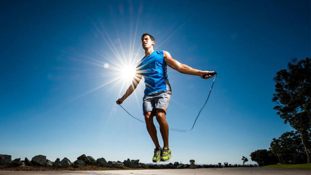 Man Jumping Rope | Outdoor Workout | DIETSiTRIED