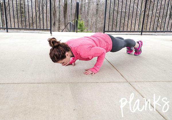 Gym-Free Planking | Outdoor Workouts