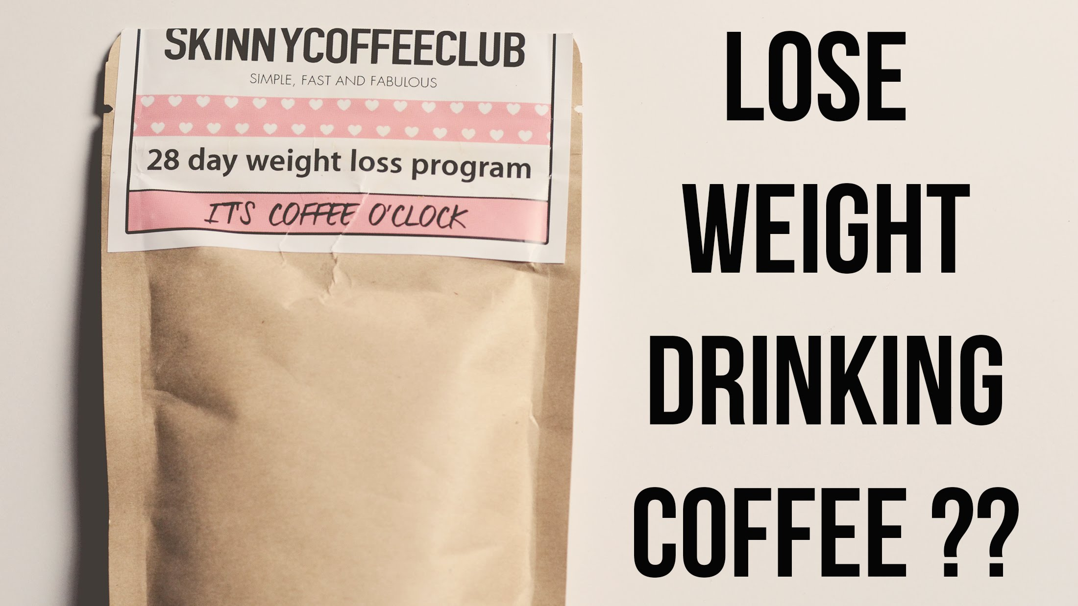Skinny Coffee Club Diet Review Weight Loss Coffee